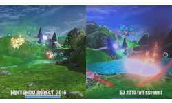 Star Fox Zero comparaison visuelle