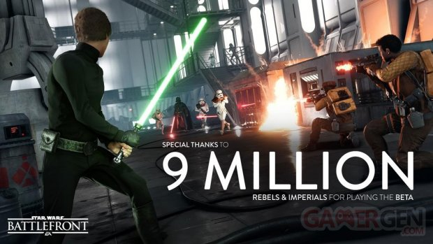 Star Wars Battlefront bêta record
