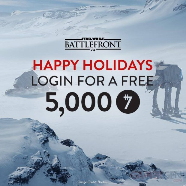 Star Wars Battlefront cadeau
