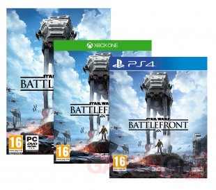 Star Wars Battlefront jaquettes