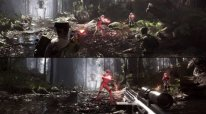Star Wars Battlefront split screen head
