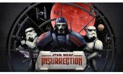 Star Wars Insurrection logo.