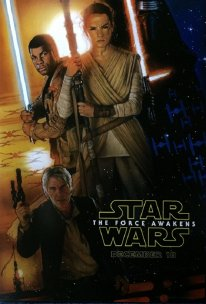 Star Wars The Force Awakens 16 08 2015 poster