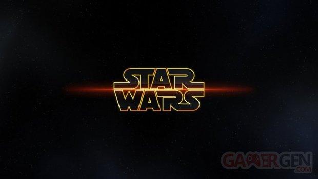 Star wars wallpaper logo