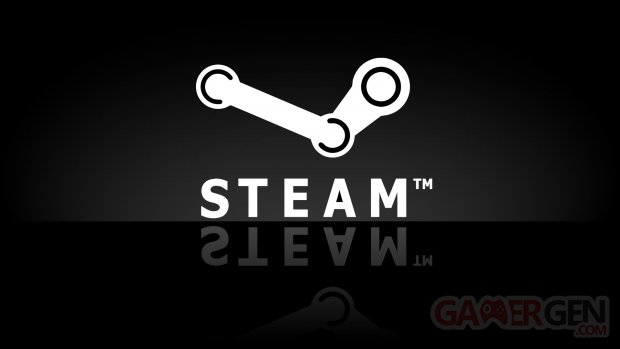 steam logo vignette