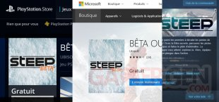 steep beta open ouverte vignette
