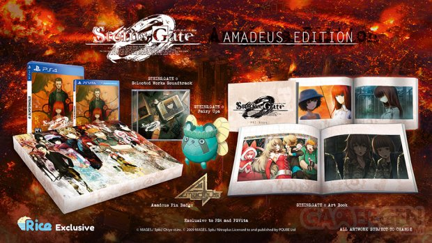 steins gate zero 0 amadeus Edition