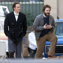 steve jobs biopic danny boyle photo tournage michael fassbender seth rogen  (3)