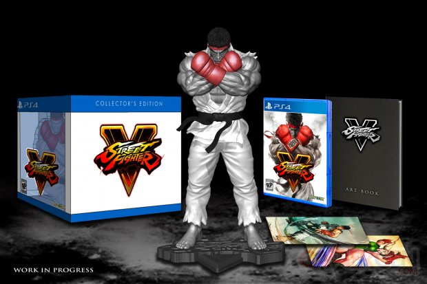 Street Fighter V 31 08 2015 collector