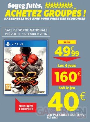 Street Fighter V bon plan a? Auchan