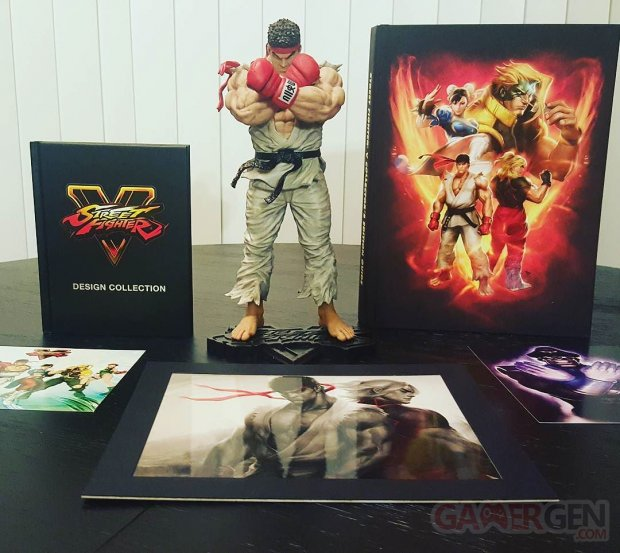 street fighter v collector ryu