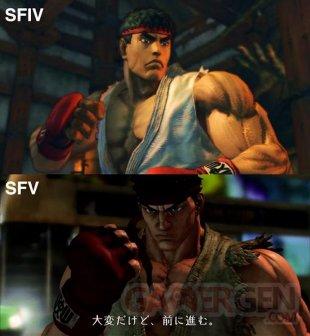 Street Fighter V comparaison images IV (2)
