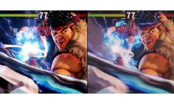 Street Fighter V comparaison