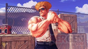 Street Fighter V Guile image screenshot 1
