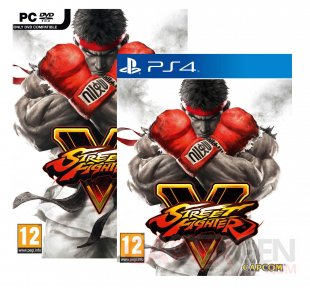 Street Fighter V jaquettes