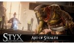 styx shards of darkness video infiltration gameplay art stealth discretion pouvoirs ambre