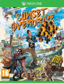Sunset Overdrive jaquette PEGI Xbox One