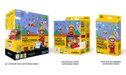 Super Mario Maker Wii U pack bundle