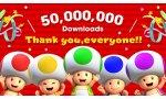 super mario run nintendi ios 50 millions telechargements