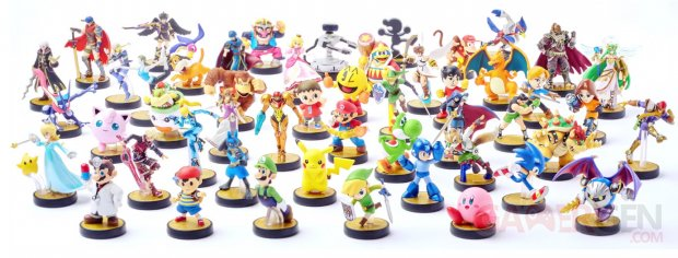 Super Smash Bros 14 06 2015 amiibo panorama complet
