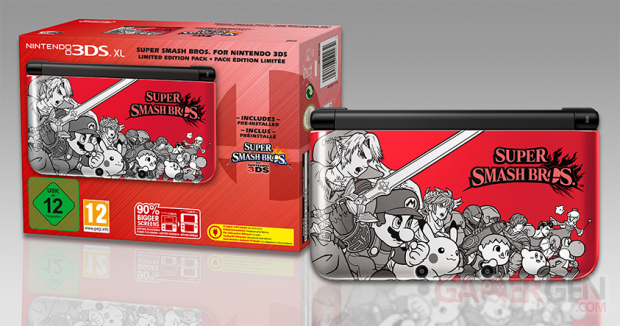 Super Smash Bros 3ds edition limitee 13.08.2014  (1)