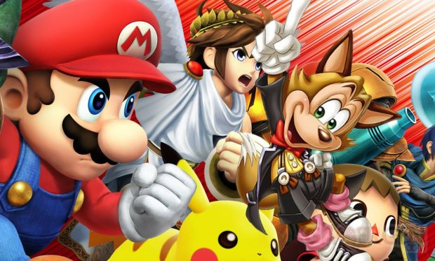 Super Smash Bros 3DS famitsu 10.09.2014
