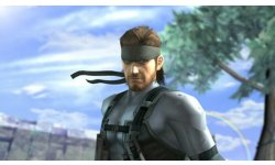 super smash bros brawl melee solid snake 01