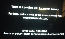 Super Smash Bros Erreur wii u