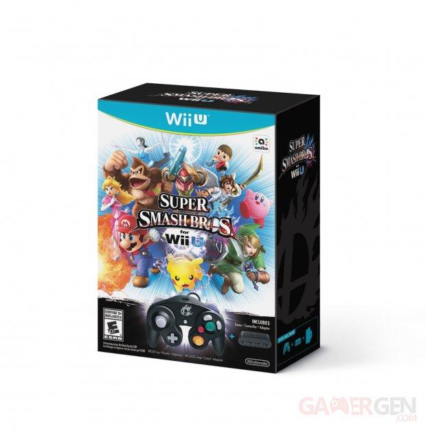 Super Smash Bros for Nintendo Wii U bundle gamecube 26.09.2014