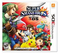 super smash bros jaquette boxart cover 3ds