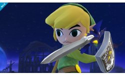 super smash bros. link cartoon wii u 00