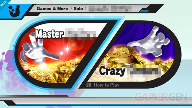 super smash bros wiiu crazy hand master hand