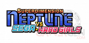 Superdimension Neptune vs Sega Hard Girls 07 04 2016 logo
