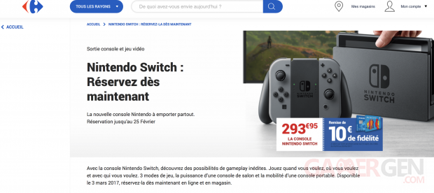Switch Carrefour