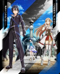 Sword Art Online Hollow Realization 04 10 2015 key art