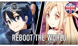 Sword Art Online Hollow Realization   PS4 PSVita   Reboot the world English Launch Trailer