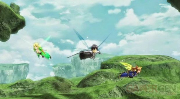 swort art online lost song screenshot
