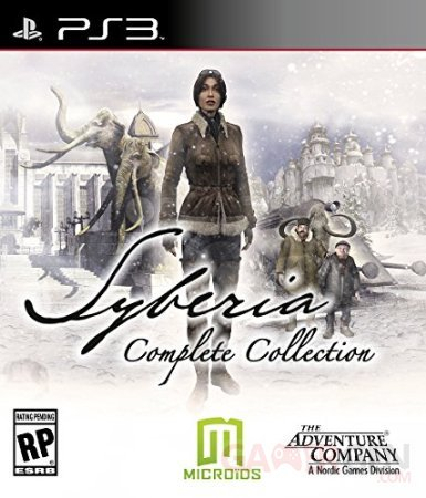 Syberia Complete Collection jaquette