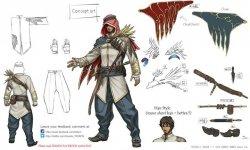 Tekken 7 08 08 2014 concept art arabe