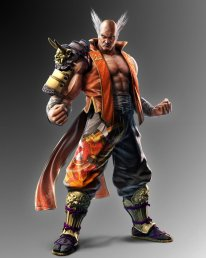 Tekken 7 Fated Retribution Heihachi Mishima Tenue Costume Oni 01