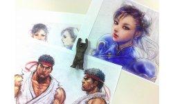 Tekken X Street Fighter concept art