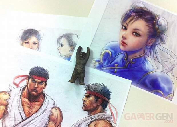 Tekken X Street Fighter concept art