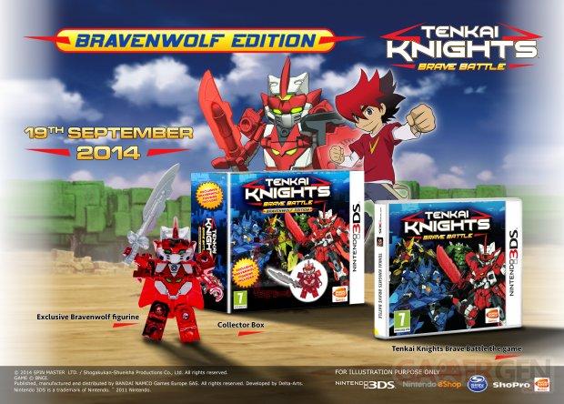 Tenkai Kinghts Bravenwolf Edition