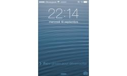 test iOS 7 lockscreen