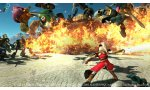 tgs 2014 dragon quest heroes affrontement geant video