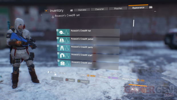 The Division Assassins creed outfit