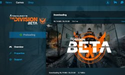 The Division be?ta taille PC