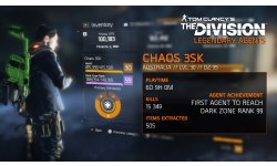 The Division Chaos S3K Level 99 Dark Zone