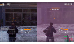 The Division comparaison Xbox One PS4