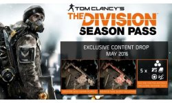 The Division contenu Season Pass mai